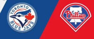 TORONTO BLUE JAYS PHILADELPHIA PHILLIES SAT SUN AUG 25/26