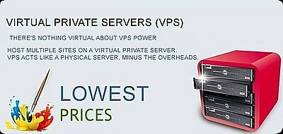 Linux virtual private server VPS,Unlimited webhosting,4GB RAM,100GB HDD,1GigPort