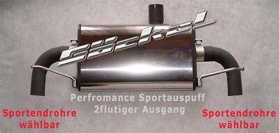 Mercedes Benz GLA X156 Sport Edition Sportauspuff Edelstahl Duplex f. Serie Rohr