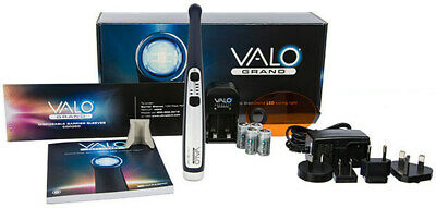 Valo Grand Cordless Midnight Kit. Dental Led Curing Light By Ultradent.