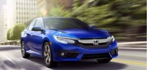2018 Honda Civic Touring|Courtesy Blowout|Nav|Rmt Start|Htd Lthr