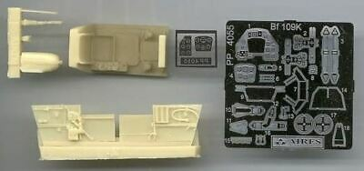 AIRES HOBBY 1/48 BF109K COCKPIT SET FOR HSG D 4055