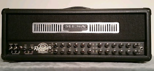 Mesa boogie road king I head with 4x12 cab.