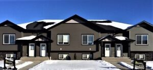 Fully Developed Townhouses Penhold- NO CONDO FEES