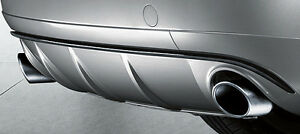 NEW-GENUINE-AUDI-A4-A5-B8-Q5-A6-2-0T-80MM-CHROME-SPORTS-EXHAUST-TAILPIPE-TRIMS