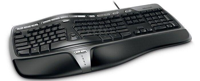 Gewölbt und geteilt: Tastaturen für Vielschreiber