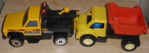 """Road Rescue Tonka Tow Truck and  Dump truck """"Like New"""""""