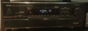 Denon AVR-2500 hifi receiver with remote