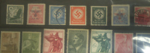 Old war stamps