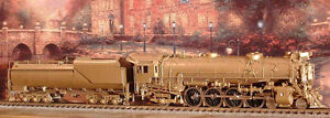 Brass Train: Chesapeake & Ohio 4-8-2, Class J-2 by Custom Brass