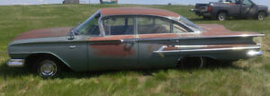 1960 Chevy Bel Air Restortation Project
