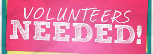 LOOKING FOR  A VOLUNTEER STUDENT
