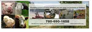 Home, Acreage and Farm Assistance, including pets and livestock Strathcona County Edmonton Area image 1