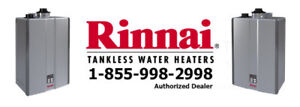 Tankless Water Heater Rent to Own - $0 Down