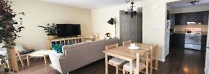 Grand 4 1/2  style condo ,propre,lumineux ,balcon,tranquillité