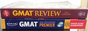 2 GMAT study books - $90+tax value Kitchener / Waterloo Kitchener Area image 1