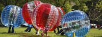 Hire Bubble Soccer Today, enjoy and have FUN!!