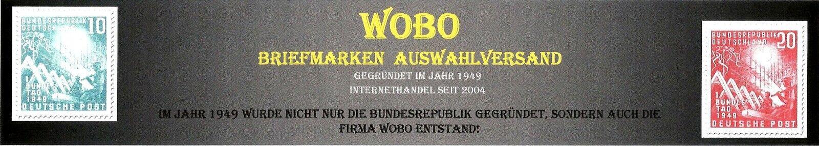 Wobo seit 1949 Partner der Sammler!
