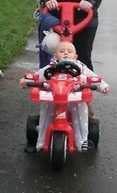 Race car bike