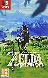 Nintendo Switch Zelda breath of the wild - £35 ono