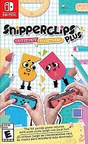 Snipperclips Plus Nintendo Switch