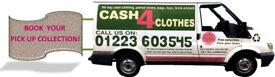 Cash for Clothes collection from your home