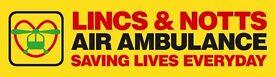 Lincs & Notts Air Ambulance Charity Shop Volunteer: Sutton in Ashfield - SATURDAY AM &/or PM