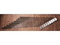 Slazenger S. Ballesteros Irons 3-9 S & W
