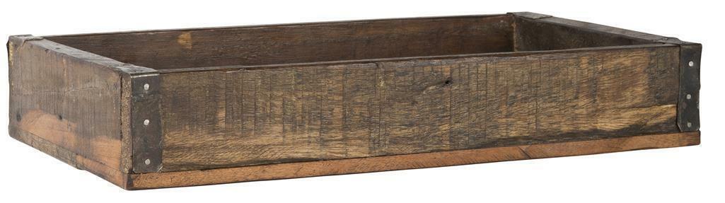 IB LAURSEN schöne Holzkiste Landhaus Cottage Garten Box Kiste Holz Indien L&R