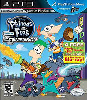 PS3 Phineas & Ferb Game & NEW Velour Agent P.