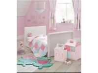 Next little poppets girls bedroom set