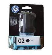 HP 02 Ink Black