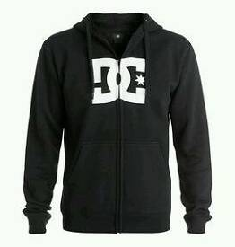 DC shoes Zip up Hoodie size M BRAND NEW WITH TAGS