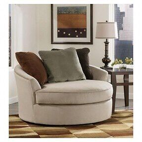 EUC Cuddler Chair-from Ashley Home