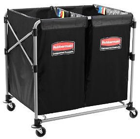 Rubbermaid 1881781 Collapsible Multi-Stream 8 Bushel X-Cart -New