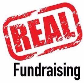 Roaming Street & Private Site Fundraiser - no experience necessary - £290-£336p/w basic + bonuses