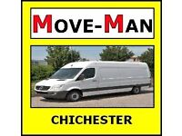 07456 504 918 (MAN and VAN) House/Flat Moves, Office Moves, Furniture and Single Items, CHICHESTER