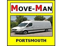 07456 504 918 (MAN and VAN) House/Flat Moves, Office Moves, Furniture and Single Items, PORTSMOUTH