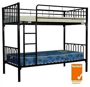new bunk beds   new bunk bed white  new bunk beds black $211 each Old Guildford Fairfield Area Preview