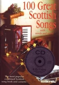 100 GREAT SCOTTISH SONGS Book & CD PVG