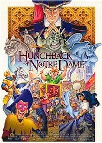 DISNEY ~ HUNCHBACK OF NOTRE DAME REGULAR MOVIE POSTER