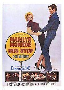 Marilyn Monroe Bus Stop Movie Poster 26x38