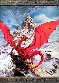 ~ MOUNTAIN 24x36 Dragons Fantasy Paul Jaquays #18 West Island Greater Montréal image 1