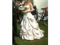 Maggie Soterro 'Emme' Duchess Wedding Gown