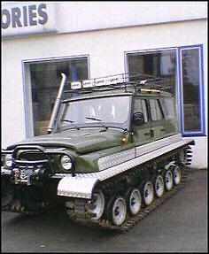 Wanted Track Vehicle/Argo