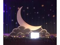 **SOLD** Moon Seat / Stage Prop / Photobooth / Wedding