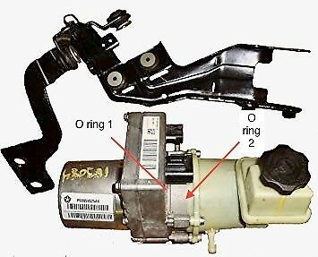 Dodge Power Steering Pump - Dodge Charger, Challenger, Chrysler 300 replacement O rings, power steering pump