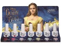 Harmony gelish beauty & the beast collection including enchanted top coat brand new