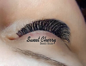 Lash extensions from International Champion $100, sweetcherry.ca