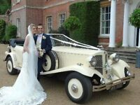 Vintage style wedding cars norfolk Claridges Wedding Cars